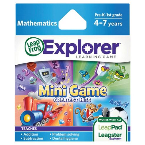 LeapFrog Explorer™ Learning Game: Mini Game Greatest Hits