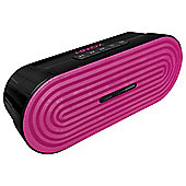 HMDX Rave Portable Speaker, Pink