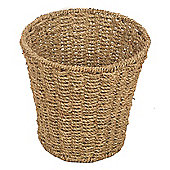 Wicker Valley Seagrass Round Waste Basket