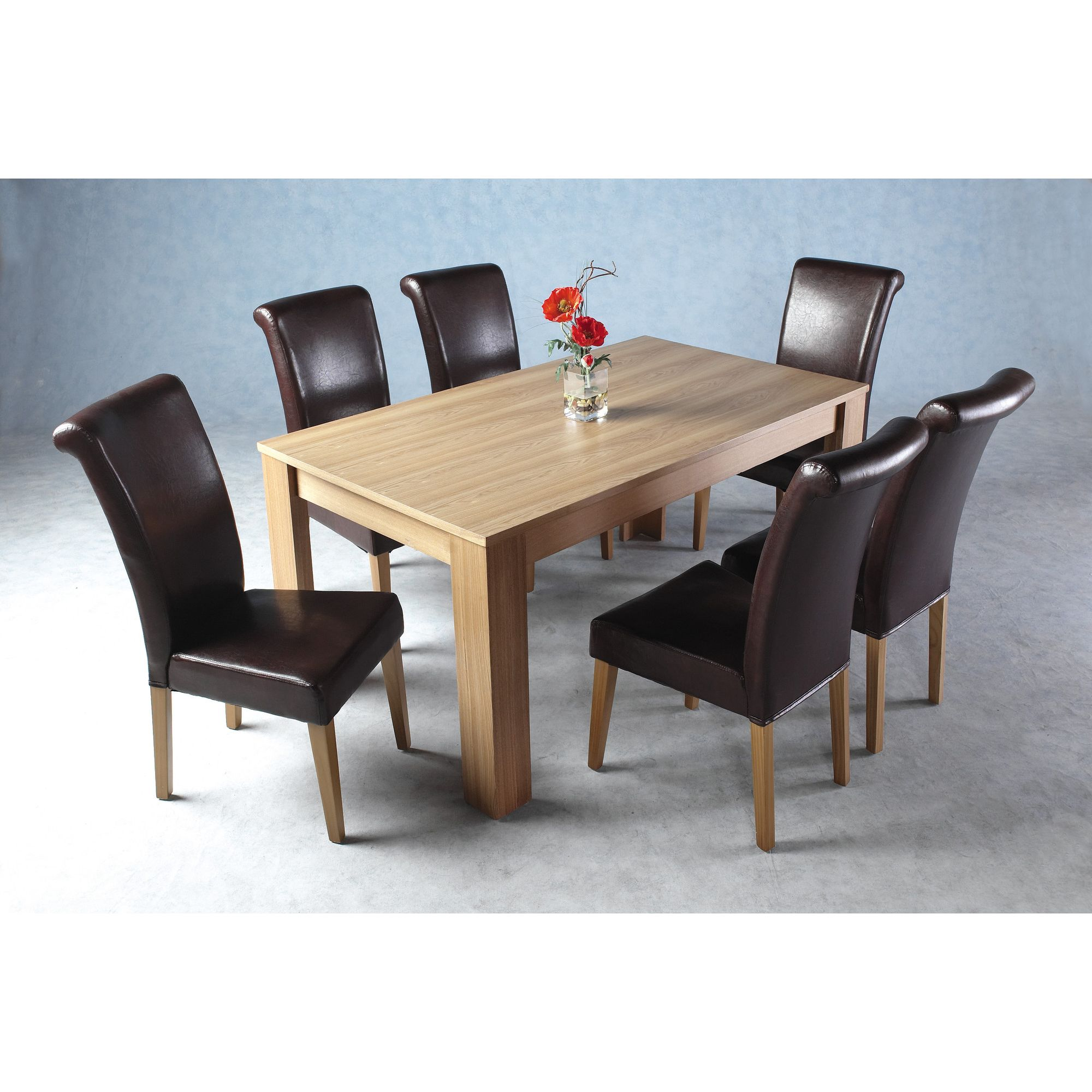 Home Essence Dunoon 7 Piece Dining Set at Tesco Direct