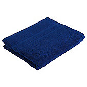 Tesco 100% Combed Cotton Hand Towel Navy Blue