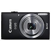 Canon Ixus 132 Digital Camera, Black, 16MP, 8x Optical Zoom, 3.0 inch LCD Screen