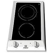 Indesit Electric Hob, DP2RIX, Black