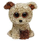 "TY Beanie Boos 6"" Plush Terrier Rootbeer"