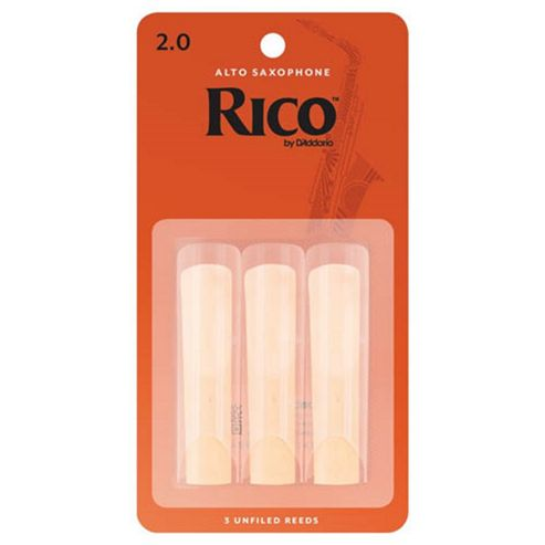 Rico 2 Alto Sax Reeds (x3)