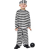 Child Prisoner Boy Costume Medium