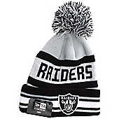 New Era Cap Co The NFL Team Jake Youths Beanie - Oakland Raiders Size: One Size