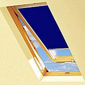 Navy Blackout Roller Blinds For VELUX Windows (UK08)