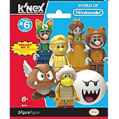 K'Nex Super Mario Series 6 Blind Bag, 1 Random Bag Supplied