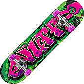Enuff Graffiti II Pink 7.5inch Mini Complete Skateboard
