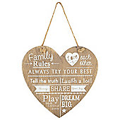 Family Rules, Wooden Heart