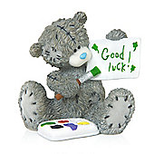 Me to You Tatty Teddy holding good luck Fig