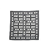Woven Magic Union Jack Monochrome Crib Throw