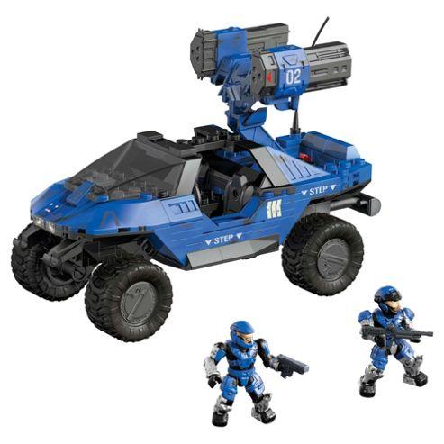 Mega Bloks Halo Blue Rockethog