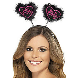 Hen Party Love Heart Head Boppers