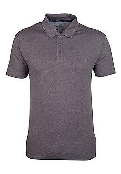 Mountain Warehouse Quest Mens Technical Polo Shirt - Brown