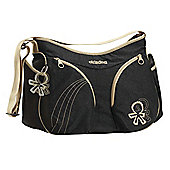 Okiedog Urban Mondo Changing Bag, Black/Croissant