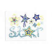 Bling Sticker Glitter Star