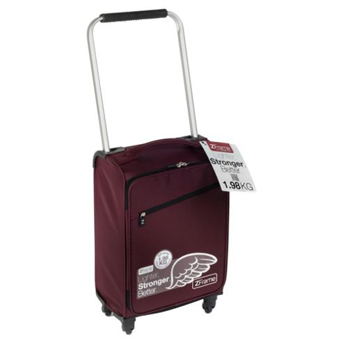 Z Frame 4-Wheel Super-Lightweight Suitcase, Aubergine Small