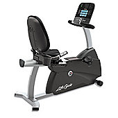 Life Fitness R3 Recumbent Exercise Bike with Track Plus console