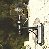 Roger Pradier Boules 200 No. 2 Wall Lantern - Black - Opal