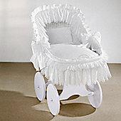 Leipold Duchesse Nostalgic Crib in White