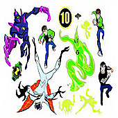 Ben 10, 38 Wall Stickers - Alien Force