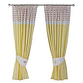 Bed-e-Byes Sunshine Safari Curtains Tape Top 132x160