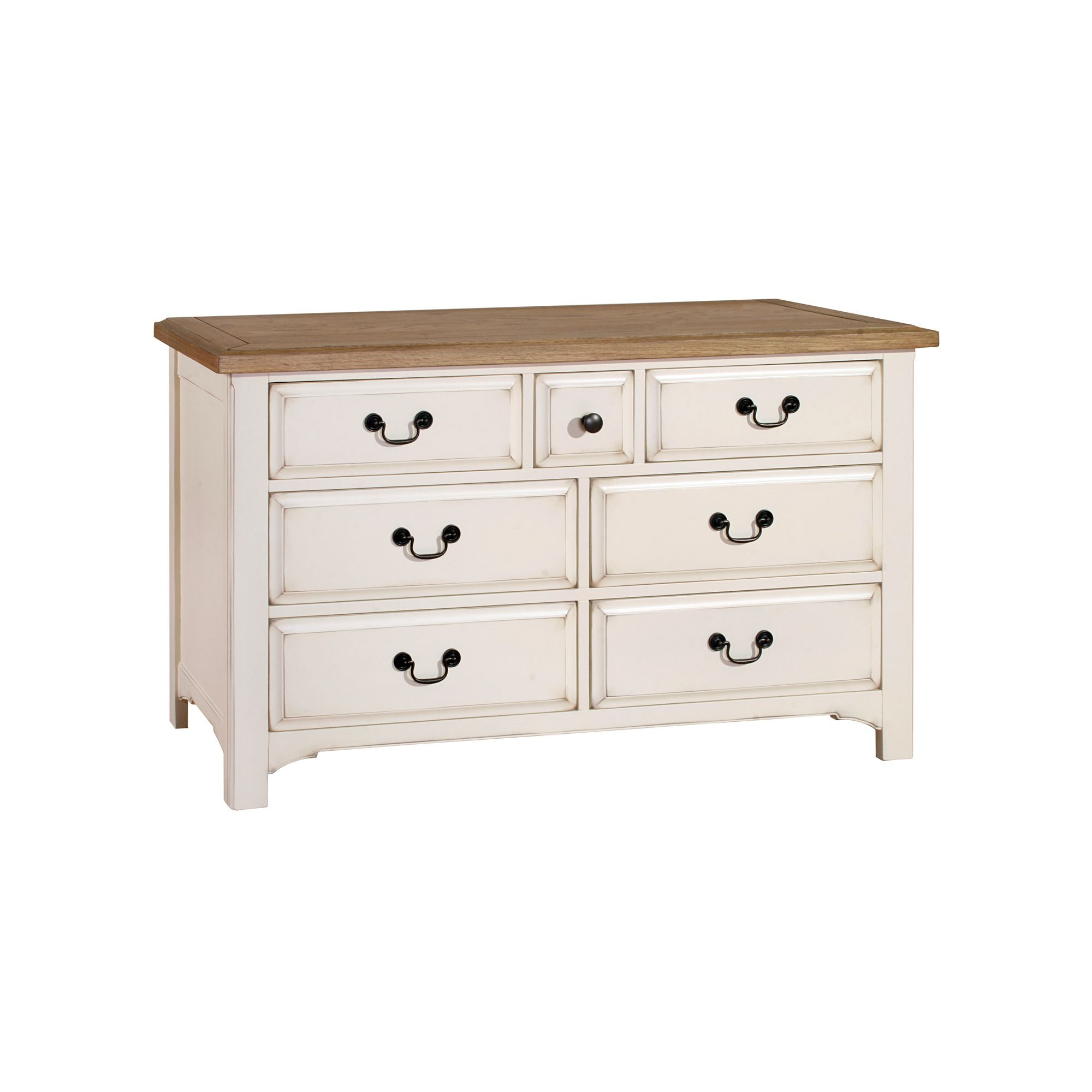 Alterton Furniture Marseille 3 over 4 Drawer Wide Chest at Tesco Direct