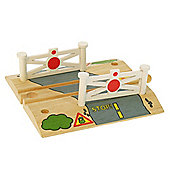 Bigjigs Wooden Railway Level Crossing