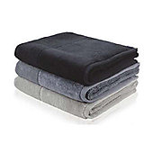 Möve Bamboo Luxe Towel (Set of 2) - 30cm x 30cm - Black