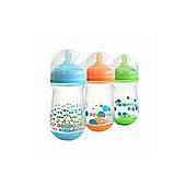 The First Years 240Ml Anti Colic Bottle 3pack - Blue & Green