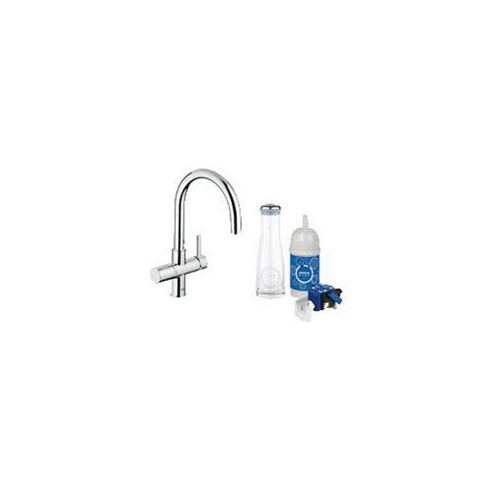 buy grohe blue pure starter kit mono sink mixer tap with. Black Bedroom Furniture Sets. Home Design Ideas