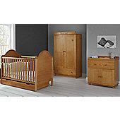 Obaby B is for Bear Premium 4 Piece Furniture Set - Country Pine