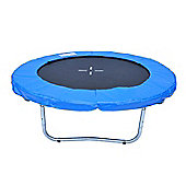 Outsunny 6 Ft Trampoline W/Pad, Safety Net, Ladder and Cover-Blue