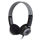 FSL Protec Kids Headphones with Adjustable Volume Limiting (Black)