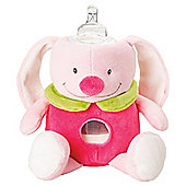 Milkysnugz Bottle Holder Comforter, Rosie Rabbit