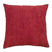 "Jumbo Cord Cushion Cover Red 22""/55cm"