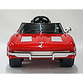 Kids Electric Car Corvette Stingray 12v - Red