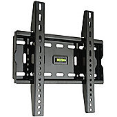 Fixed Black LCD Wall Mount Bracket - 17 inch - 37 inch TV s