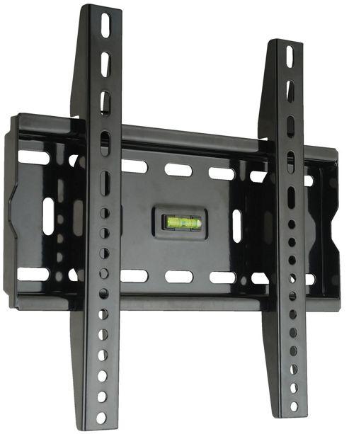 Fixed Black LCD Wall Mount Bracket - 17 inch - 37 inch TV s