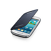 Samsung Original Galaxy SIII Mini Flip Case Pebble Blue