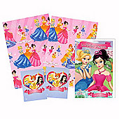 Gem Fairies Wrapping Paper' Birthday Card and Gift Tags Pack