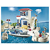 Playmobil Harbour Police with Speed Boat
