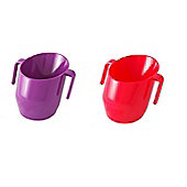 Doidy Cup Bundle - Purple And Red - 2 Items