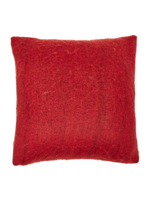buy deep cosy knit cushion red from our cushions range. Black Bedroom Furniture Sets. Home Design Ideas
