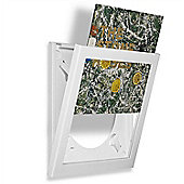 Art Vinyl Play and Display Record Flip Frame Triple Pack White