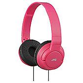 JVC On-ear Red JVC HA-S180 Red Deep Bass