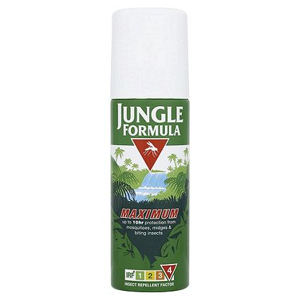Save 1/3	on selected Jungle Formula insect repellent
