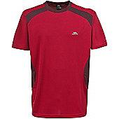 Trespass Mens Sands T-Shirt - Red